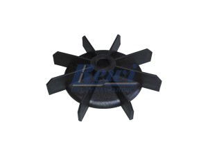 Przewietrznik do silnika elektrycznego na wałek 12 mm o średnicy zewnętrznej 100 mm