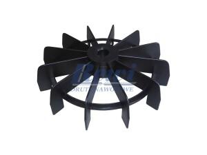 Przewietrznik na wałek 15 cm o średnicy zewnętrznej 165, przewietrznik kosiarkowy