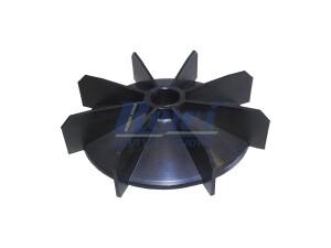 Przewietrznik do silnika elektrycznego na wałek 17 mm o średnicy zewnętrznej 120 mm