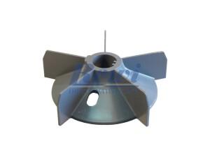 Przewietrznik do silnika elektrycznego na wałek 25 mm o średnicy zewnętrznej 140 mm, wentylator silnika elektrycznego