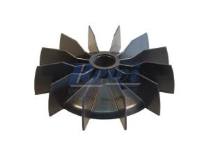 Przewietrznik do silnika elektrycznego na wałek 24,5 mm o średnicy zewnętrznej 157 mm, wentylator silnika elektrycznego