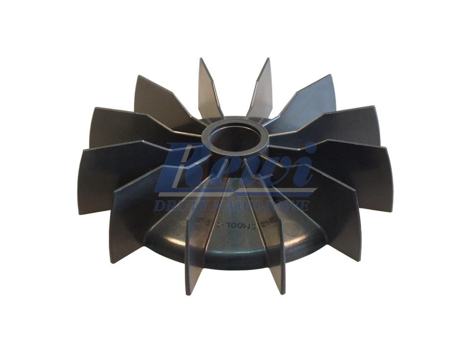 Przewietrznik do silnika elektrycznego na wałek 24,5 mm o średnicy zewnętrznej 157 mm