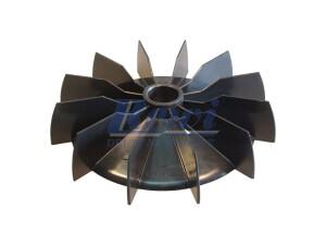 Przewietrznik do silnika elektrycznego na wałek 24,5 mm o średnicy zewnętrznej 184 mm, wentylator silnika elektrycznego