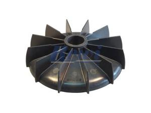 Przewietrznik do silnika elektrycznego na wałek 24,5 mm o średnicy zewnętrznej 148 mm, wentylator silnika elektrycznego