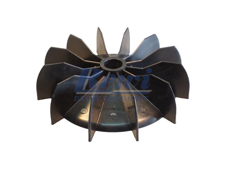 Przewietrznik do silnika elektrycznego na wałek 24,5 mm o średnicy zewnętrznej 206 mm
