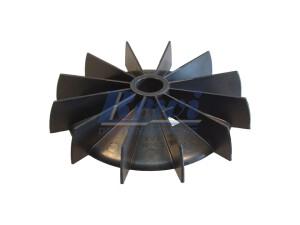 Przewietrznik do silnika elektrycznego na wałek 21,5 mm o średnicy zewnętrznej 161 mm, wentylator silnika elektrycznego