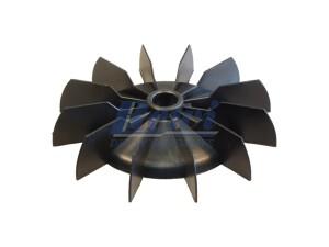 Przewietrznik do silnika elektrycznego na wałek 14,5 mm o średnicy zewnętrznej 131 mm
