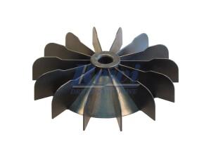 Przewietrznik do silnika elektrycznego na wałek 15 mm o średnicy zewnętrznej 144 mm