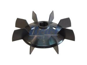 Przewietrznik do silnika elektrycznego na wałek 22 mm o średnicy zewnętrznej 163 mm, wentylator silnika elektrycznego