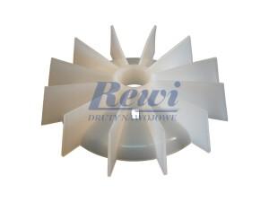 Przewietrznik do silnika elektrycznego na wałek 24,5 mm o średnicy zewnętrznej 147 mm, wentylator silnika elektrycznego