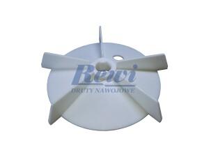 Przewietrznik do silnika elektrycznego na wałek 14 mm o średnicy zewnętrznej 125 mm