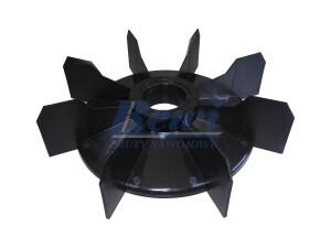 Przewietrznik do silnika elektrycznego na wałek 45 mm o średnicy zewnętrznej 245 mm