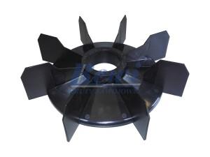Przewietrznik do silnika elektrycznego na wałek 52 mm o średnicy zewnętrznej 245 mm