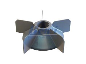 Przewietrznik do silnika elektrycznego na wałek 30 mm o średnicy zewnętrznej 150 mm, wentylator silnika elektrycznego