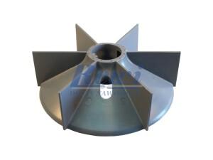 Przewietrznik do silnika elektrycznego na wałek 40 mm o średnicy zewnętrznej 195 mm