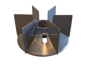 Przewietrznik do silnika elektrycznego na wałek 52 mm o średnicy zewnętrznej 210 mm