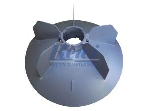 Przewietrznik do silnika elektrycznego na wałek 60 mm o średnicy zewnętrznej 320 mm