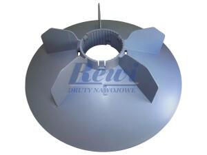 Przewietrznik do silnika elektrycznego na wałek 88 mm o średnicy zewnętrznej 400 mm