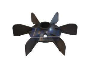 Przewietrznik do silnika elektrycznego na wałek 32 mm o średnicy zewnętrznej 204 mm