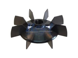 Przewietrznik do silnika elektrycznego na wałek 25 mm o średnicy zewnętrznej 178 mm, wentylator silnika elektrycznego