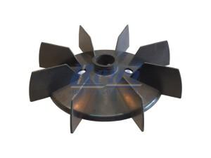 Przewietrznik do silnika elektrycznego na wałek 25 mm o średnicy zewnętrznej 204 mm, wentylator silnika elektrycznego