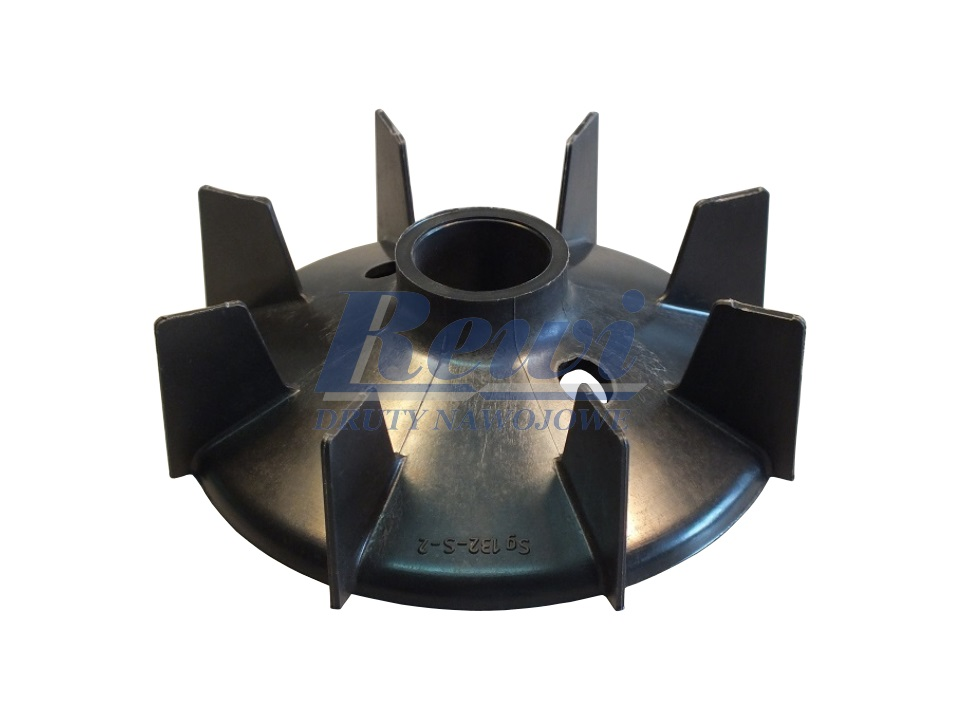 Przewietrznik do silnika elektrycznego na wałek 32 mm o średnicy zewnętrznej 160 mm