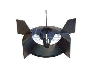 Przewietrznik do silnika elektrycznego na wałek 32 mm o średnicy zewnętrznej 202 mm