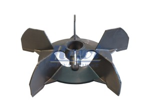 Przewietrznik do silnika elektrycznego na wałek 32 mm o średnicy zewnętrznej 250 mm