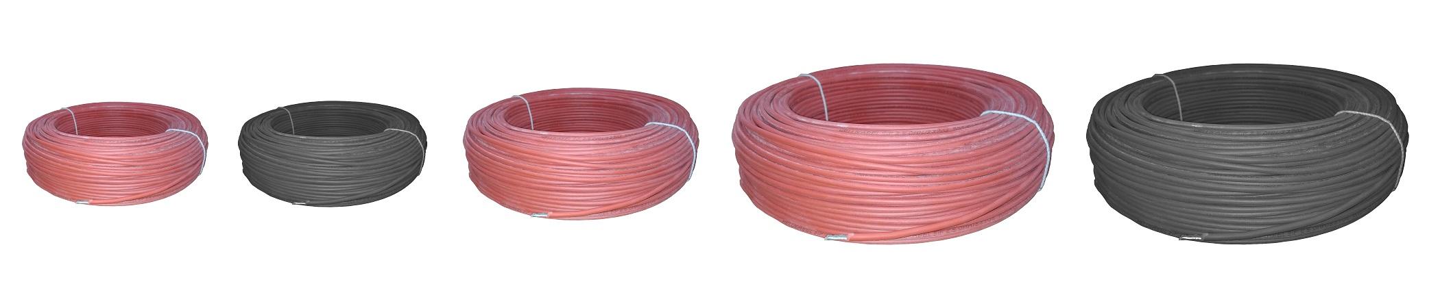 Przewody LGS, przewód w silikonie, przewód o żyle miedzianej wielodrutowej