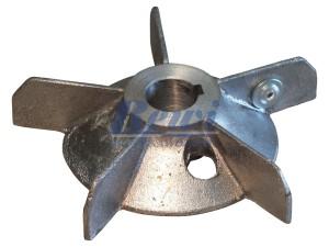 Przewietrznik do silnika elektrycznego na wałek 20 mm o średnicy zewnętrznej 130 mm, wentylator silnika elektrycznego