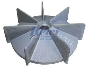 Przewietrznik do silnika elektrycznego na wałek 25 mm o średnicy zewnętrznej 190 mm, wentylator silnika elektrycznego