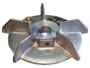 Przewietrznik do silnika elektrycznego na wałek 24 mm o średnicy zewnętrznej 162 mm, wentylator silnika elektrycznego
