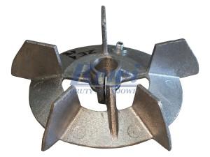 Przewietrznik do silnika elektrycznego na wałek 18 mm o średnicy zewnętrznej 160 mm, wentylator silnika elektrycznego