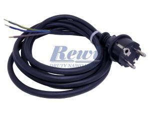 Sznur przyłączeniowy do urządzeń elektrycznych, kabel z wtyczką do maszyn elektrycznych