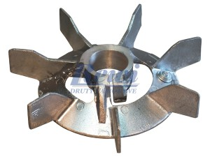 Przewietrznik do silnika elektrycznego na wałek 40 mm o średnicy zewnętrznej 210 mm, wentylator silnika elektrycznego
