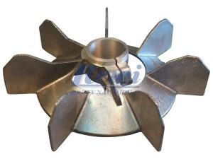 Przewietrznik do silnika elektrycznego na wałek 40 mm o średnicy zewnętrznej 240 mm, wentylator silnika elektrycznego