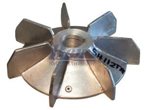 Przewietrznik do silnika elektrycznego na wałek 28 mm o średnicy zewnętrznej 180 mm, wentylator silnika elektrycznego