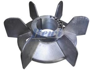 Przewietrznik do silnika elektrycznego na wałek 62 mm o średnicy zewnętrznej 250 mm, wentylator silnika elektrycznego