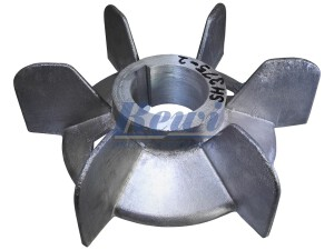 Przewietrznik do silnika elektrycznego na wałek 68 mm o średnicy zewnętrznej 250 mm, wentylator silnika elektrycznego