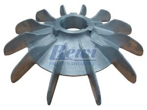 Przewietrznik do silnika elektrycznego na wałek 62 mm o średnicy zewnętrznej 340 mm, wentylator silnika elektrycznego