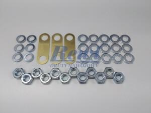 Mostek do tabliczek zaciskowych, mostkowanie śrub M10, zestaw do mostkowania, złączka, nakrętka, podkładka