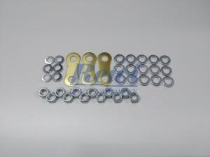Mostek do tabliczek zaciskowych, mostkowanie śrub M5, zestaw do mostkowania, złączka, nakrętka, podkładka