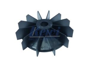 Przewietrznik do silnika elektrycznego na wałek 21 mm o średnicy zewnętrznej 154 mm, wentylator silnika elektrycznego
