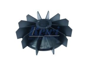 Przewietrznik do silnika elektrycznego na wałek 32 mm o średnicy zewnętrznej 154 mm, wentylator silnika elektrycznego